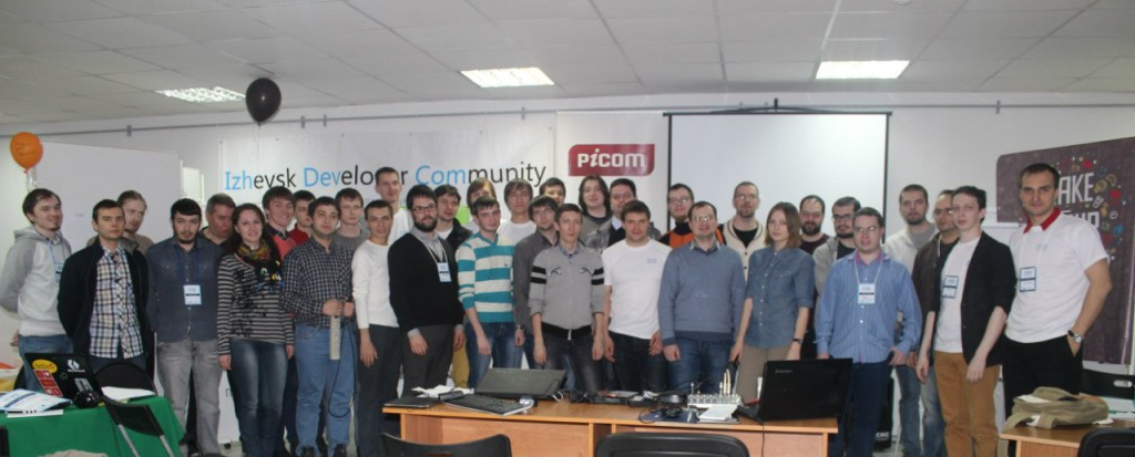 Hackathone in Izhevsk
